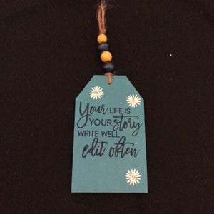 Chalk Couture Wooden Tag